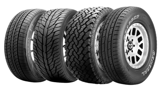 general tire roll